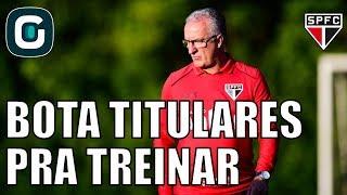 Domingo, São Paulo viaja para encarar a Chapecoense, adversário direto na fuga do rebaixamento. Dorival Jr treina pós jogo com os titulares para melhorar a ...