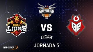 SUPERLIGA ORANGE - MAD LIONS VS G2 VODAFONE - Mapa 1 - #SUPERLIGAORANGELOL5