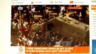 Marg bar Mubarak! - Al Jazeera live aus Suez. Die Selbstbefreiung der Araber