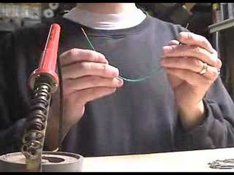 How to solder - Basic soldering how to video.