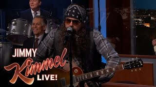 Video John Mayer Disguised as Hank the Hawk Knutley on Jimmy Kimmel Live MP3, 3GP, MP4, WEBM, AVI, FLV Juli 2018