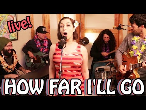 "Alessia Cara  ""How Far I'll Go"" Cover by Whitney Avalon"