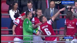 Arsenal FA Cup Championship Celebration