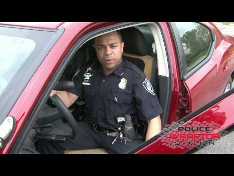 Wraptor Skin™ Demonstration - Custom Kevlar Seat Cover For Police Vehicles