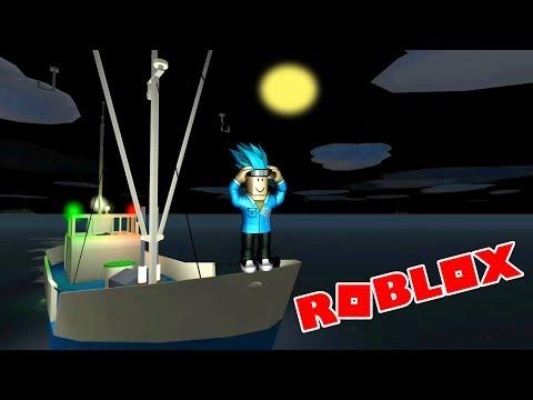 КАПИТАН КАКТУС   Приключение в ROBLOX в МОРЕ   Игровой летсплей от папы DAMON