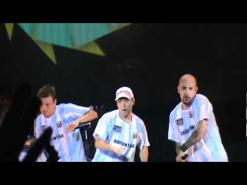 Backstreet boys Luna park 2011 Straight Through My Heart (видео)