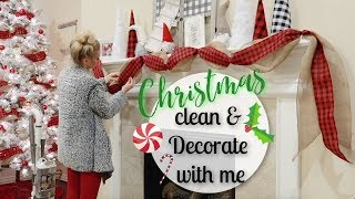 NEW! CHRISTMAS DECOR HAUL//DECORATE WITH ME FOR CHRISTMAS 2018//CLEAN WITH ME