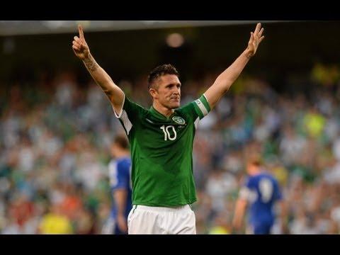 Robbie Keane, máximo goleador de la historia de la selección de Irlanda