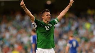 Robbie Keanes Treffer für Irland
