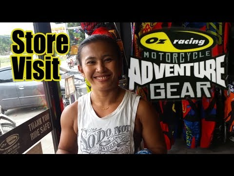 OZ racing Motorcycle Gear shopping Dumaguete Philippines