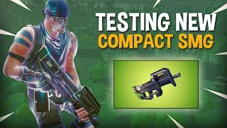 Download Video Testing NEW Compact SMG P90 - Fortnite Battle Royale Gameplay - Ninja MP3 3GP MP4