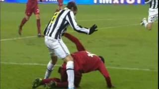 John Arne Riise trifft gegen Juventus