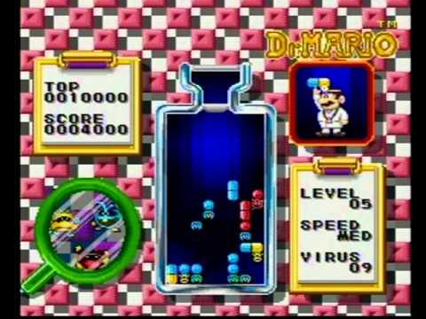 Tetris & Dr. Mario Super Nintendo