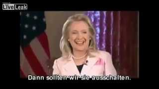 Hillary Clinton Laughs At Possible War With Iran