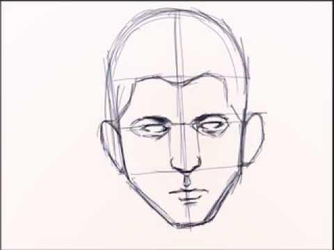تعلم رسم الوجه تحيات  الفنان  حوده الرسام