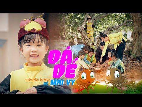 Đá Dế ♪ Bé MAI VY Thần Đông Âm Nhạc Việt Nam [MV Official]