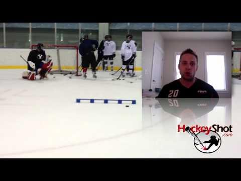On-Ice Hockey Training Aids