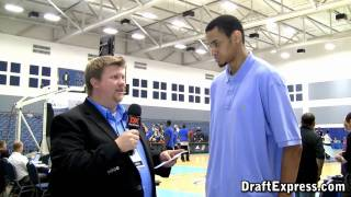 DraftExpress Exclusive - Chris Johnson Interview at the 2011 D-League Showcase