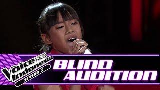 Video Vanisya - She's Gone | Blind Auditions | The Voice Kids Indonesia Season 3 GTV 2018 MP3, 3GP, MP4, WEBM, AVI, FLV September 2018