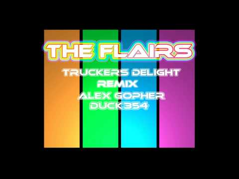 Truckers Delight Remix Mashup - The Flairs - Alex Gopher - Duck354 (видео)