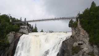 Quebec City (QC) Canada  city photos gallery : Montmorency Falls overview, Quebec City, QC, Canada