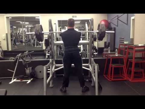 365 for 5 reps Front Squat