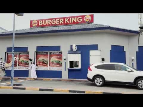 Camel at the Drive thru - Qatar