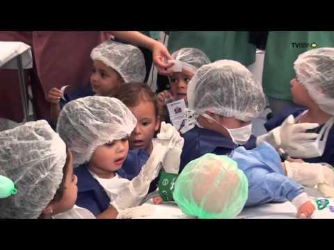 Hospital Assunção recebe filhos de colaboradores para comemorar Dia da Crianças