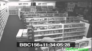 video de FANTASMA EN BLOCKBUSTER 100% Real
