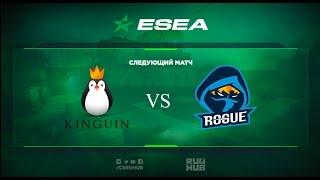 Team Kinguin vs Rogue gg - ESEA Premier - map3 - de_overpass