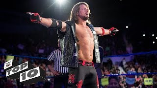 Video AJ Styles' greatest moments: WWE Top 10, Jan. 6, 2018 MP3, 3GP, MP4, WEBM, AVI, FLV Juli 2018