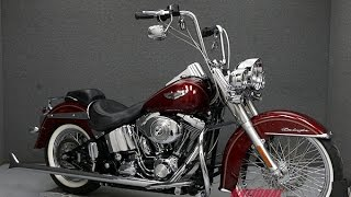 9. 2005  HARLEY DAVIDSON  FLSTNI SOFTAIL DELUXE   - National Powersports Distributors