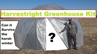 Harvestright GEODESIC DOME 🌿GREENHOUSE🌿-- Review, Unboxing, Setup & Tour