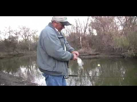 Winter Creek Fishing for Crappie