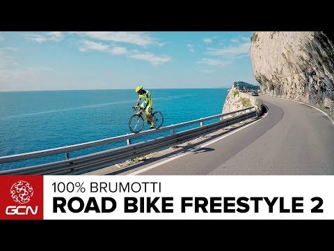 Vittorio Brumotti Stars in Road Bike Freestyle
