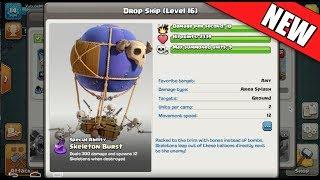 Video Clash of Clans - MAX LEVEL 16 DROP SHIP GAMEPLAY! MP3, 3GP, MP4, WEBM, AVI, FLV Oktober 2017