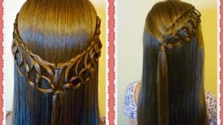 Feather Chain Braid Hairstyles Hair4myprincess