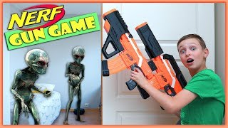Video NERF GUN GAME: ALIEN INVASION meets NERF | Extraterrestrial Creature Nerf Battle MP3, 3GP, MP4, WEBM, AVI, FLV Juni 2019