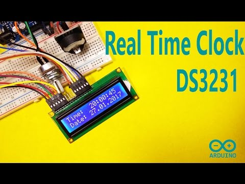 Arduino Temperature Monitor and Real Time Clock