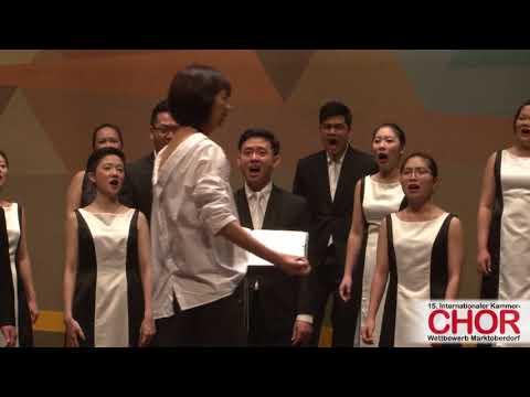 ONE Chamber Choir (Singapur): Kijo,  INTERNATIONALER KAMMERCHOR-WETTBEWERB MARKTOBERDORF 2017 (видео)