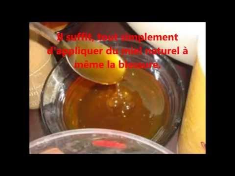 comment appliquer miel plaie