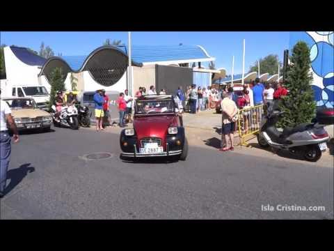 III Concentración de Vehículos Clásicos en Isla Cristina