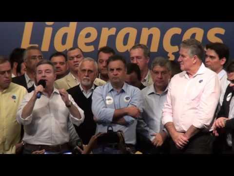 Confira vídeo do Encontro de Lideranças e Pré-Candidatos tucanos realizado em Belo Horizonte em 1º de Julho
