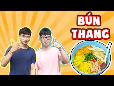 """[Series with NinhTitô] Người Hàn ăn thử và """"khen hết lời"""" Bún Thang Việt Nam ??? - Thời lượng: 8:11."""