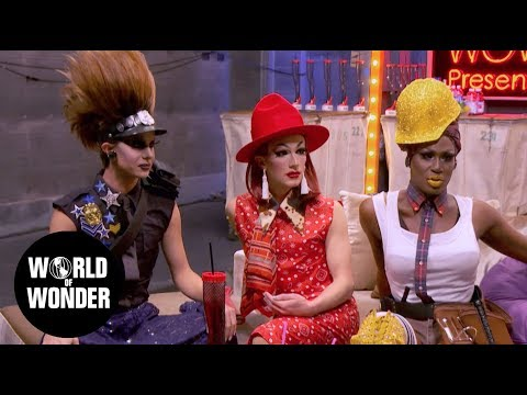"UNTUCKED: RuPaul's Drag Race Season 9 Episode 11 ""Gayest Ball Ever"""