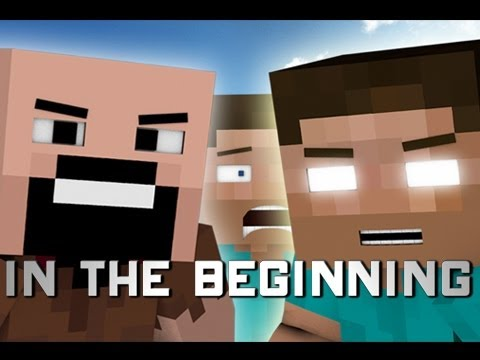 In The Beginning (Minecraft Machinima)