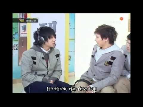 [Eng] Funny – Super Junior English Game Cut