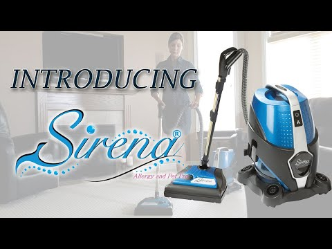 Water Vacuum Cleaner - Sirena