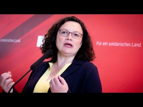 SPD: Landesverbände planen Aufstand gegen Andrea Nahl ...