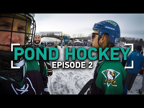 A bad bruise... | Pond Hockey | Episode 2